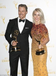 Derek and Julianne - Emmy winners 2015 Courtesy: Reuters